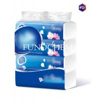 Buy cheap 3 Layers Soft Tissue Paper / 100 Sheet Plastic Bag Paper Tissue from wholesalers
