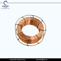 Buy cheap China K300 metal spool ER70S-6 SG2 welding wire 1.2mmx15kg best price in high quality from wholesalers