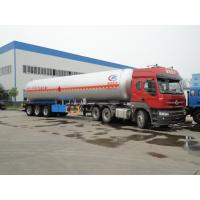 Buy cheap 2017S hot sale 3 axles 58cbm propane LPG tank semitrailers, 58,000L BPW/FUWA axles cooling gas tank trailer for sale from wholesalers