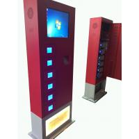 Buy cheap Universal Cell Phone charging kiosk 19'' touch screen High Capacity from wholesalers