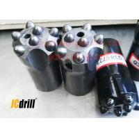 Buy cheap Tungsten Carbide Rock Drill Bits Chisel / Cross Drill Bits For Road Construction from wholesalers