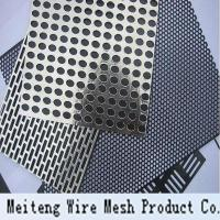 Buy cheap Galvanized Perforated Metal Mesh Steel Sheets and Rolls from wholesalers