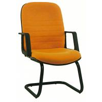 Buy cheap Pretty Student Computer Chairs , Fabric Office Desk Chairs Without Wheels from wholesalers