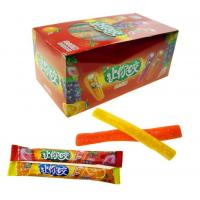 Buy cheap Convenient Store Chewy Gummy Candy Stick Shape Attractive Pattern Design from wholesalers