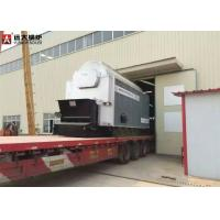 Buy cheap Commercial Coal Hot Water Boiler , 6 Ton Wood Fired Boiler SGS Certification from wholesalers