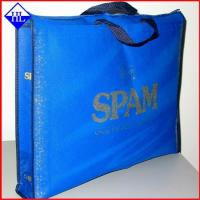 Buy cheap Eco Friendly Non Woven Fabric Bags / Reusable Non Woven Sack Bags OEM Service from wholesalers