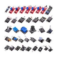 Buy cheap Electronic Sensor Starter Kit for Arduino of 37 in 1 Sensors Flame Reed Temperature Laser Modules from wholesalers