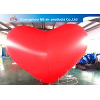 Buy cheap Giant Inflatable Holiday Decorations Hanging Heart Helium Balloons product