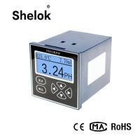 Buy cheap Automatic Intelligent online  0 ~ 14.00pH liquid ph water tester controller orp meter product