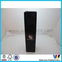 Buy cheap Fancy hot silver stamping logo Printed Paper Bags For wine Packaging from wholesalers