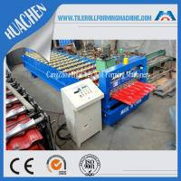 Buy cheap Commercial Metal Roofing Panel Roll Forming Machine Color Steel Plate from wholesalers