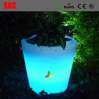 Buy cheap LED Lighted Planter Pots illuminated led flower pot/led flower planter/rgb led flower pot from wholesalers
