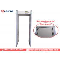 Buy cheap Commercial Metal Walk Through Gate , Door Frame Metal Detector 760mm Tunnel Size from wholesalers