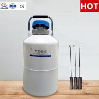 Buy cheap TianChi 6L portable liquid nitrogen tank quotation in MX from wholesalers