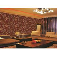 Buy cheap Brick Red Non-Pasted Vinyl Coated Paper Contemporary Wall Wallpaper For Administration from wholesalers