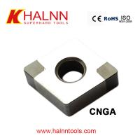 Buy cheap BN-K20 CNGA120408 Brazed CBN Cutting Tool Inserts machining Automotive parts Pulley from Halnn Superhard from wholesalers