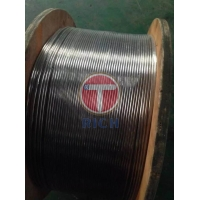 Buy cheap ASTM A269 APIRP5 C7 JISG4305 CCS、GL、DNV Certificated Super Duplex 2205 2507 Coiled stainless steel tubes from wholesalers