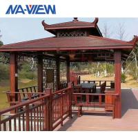 Buy cheap Metal Aluminium Gazebo With Polycarbonate Roof Eco Friendly Design from wholesalers