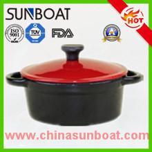 Buy cheap Kitchen cookware cast iron customized color enamel dutch oven casserole product