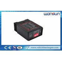 Buy cheap Black Automatic Barrier Gate Vehicle Loop Detector Single / Double from wholesalers