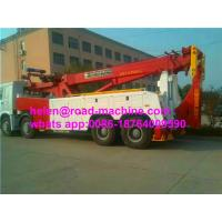 Buy cheap Sinotruk Howo 8x4 Heavy Duty Tow Truck WD615.47 Engine 20-50t capacity from wholesalers