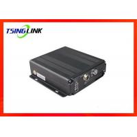Buy cheap 4G 4CH AHD Vehicle Mobile DVR Supports Two Way Video Talkback With Micro SD Card product
