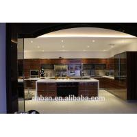 High gloss mdf luxury kitchen cabinet furniture imported for Chinese kitchen cabinets for sale