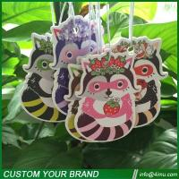 Buy cheap Thailand hot sell customized design hanging paper air freshener from wholesalers
