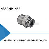 Buy cheap Pneumatic Air Fittings Stainless Steel Food Grade Fitting Push In Male Straight from wholesalers