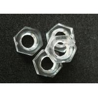 Standard Hardware Nuts Bolts M4 Metric Fine Thread Plastic Hex Nuts DIN 934