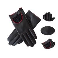 Buy cheap Ladies Fashion Dress Aniline Leather Driving Gloves Breathable Plain Style from wholesalers