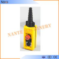 Buy cheap Wireless Double Speed Crane / Hoist Pendant Control Hoist Push Button Switch from wholesalers