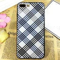 Buy cheap PC+TPU Silk Grain Classical Black&White Grid Pattern Cell Phone Case Cover For iPhone 7 6s Plus from wholesalers