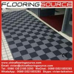 Buy cheap Interlock pvc  tile floor mat for entrance wet areas school mat entrance mat wash room mat indoor pvc mat outdoor mat from wholesalers