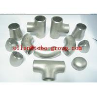 China CuNi Pipe Fitting Seamless ERW Welded Elbow Tee Reducer Cap EEMUA 146 C7060x Copper Nickel on sale