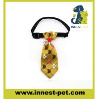 Buy cheap High Fashion Woven Cotton Wholesale Dog Bow Tie from wholesalers