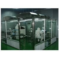 Buy cheap ISO Semiconductor Air Shower Clean Room Class 100 - 10000 With Fan Filter Unit from wholesalers