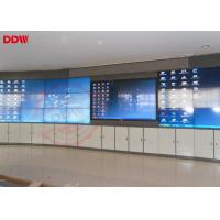 Buy cheap 46 Inch Curved LCD Screen Portable Video Wall Indoor Display HDMI DVI VGA Signal Interface from wholesalers