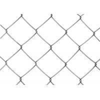Buy cheap Black PVC Coated Chain Link Fence Mesh 1.2M - 1.8M Width Stainless Steel Wire from wholesalers
