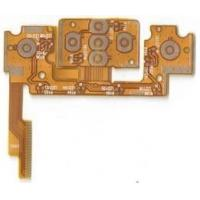 Buy cheap 0.3mm thickness flexible printed circuit board for display fpcb from wholesalers