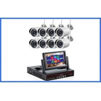 Buy cheap 7 Inch Monitor 8 Channel NVR CCTV Camera Kits , HD Bullet Waterproof IP Wireless Camera from wholesalers