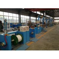 Buy cheap Sky Blue Plastic Extrusion Line , electrical wire making machine 500Rpm Max Speed from wholesalers
