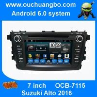 Buy cheap Ouchuangbo 7 inch car gps navi dvd for Suzuki Alto 2016 with android 6.0 system bluetooth from wholesalers