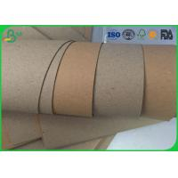 Buy cheap Mixed Pulp High Stiff Brown Craft Paper Roll 80gsm - 140gsm For Corrugated Box from wholesalers