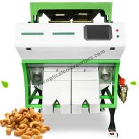 Buy cheap Intelligent Cashew Color Sorter Machine With High Luminance LED Light System from wholesalers