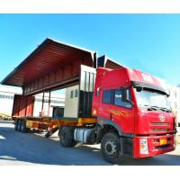 Buy cheap Full Opening Dry Van Trailer 3 Axles Container Semi Trailer Corrugated Plate from wholesalers