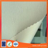 Buy cheap white color fireproofing wallpaper home screen in Textilene fabric from wholesalers