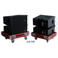 Buy cheap Single 10 Full Range Line Array Speaker LA-110 For Party , Living Event , Church and Wedding from wholesalers