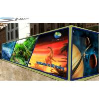 Buy cheap Mobile 6D Movie Theater Simulator With Audio /Broadcast System And Polarized Glasses product