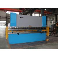Buy cheap Industrial Press Brake 300 Ton , Y X Axis Crowning CNC Brake Press Machine from wholesalers